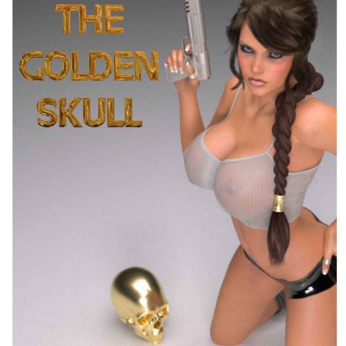 Lara Croft em O Cranio de ouro