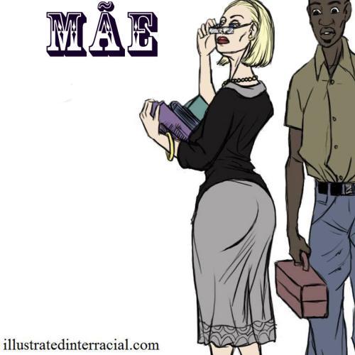 Mãe – hq inter racial